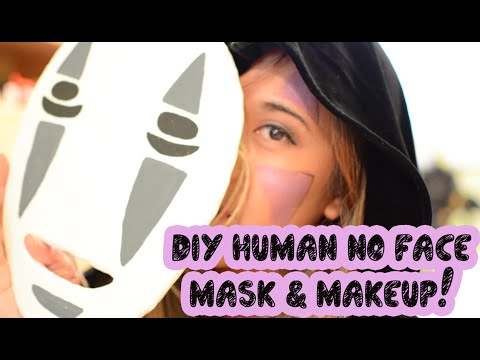 COSPLAY! NO FACE MASK AND MAKEUP TUTORIAL - YouTube