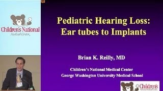 Management of Hearing Loss in Pediatric Patients | Children