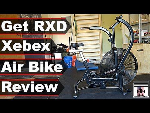 Goodbye Airdyne Hello Xebex Air Bike Youtube