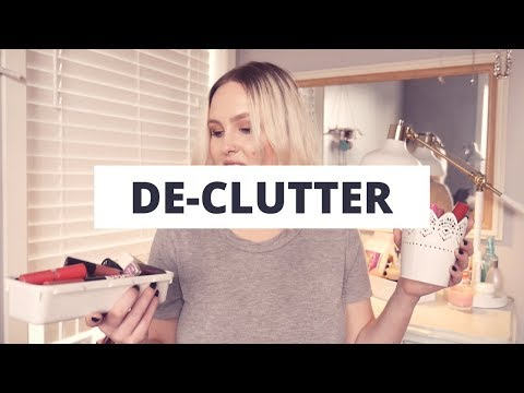 DECLUTTER MINI SERIES - Day 3 | Lips and Organization (EDIT!)