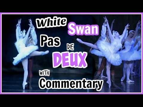 White Swan Pas de Deux with Ballet Commentary | Kathryn Morgan