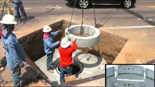 Manhole Installation Training Video - By Distribution Design Consultants, Inc.