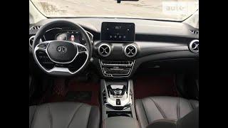 Обзор BAIC EU5 електро машина из Китая.  Расход по городу Часть 4