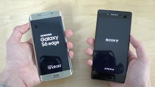 Sony Xperia Z3+ vs. Samsung Galaxy S6 Edge - Which Is Faster? (4K)