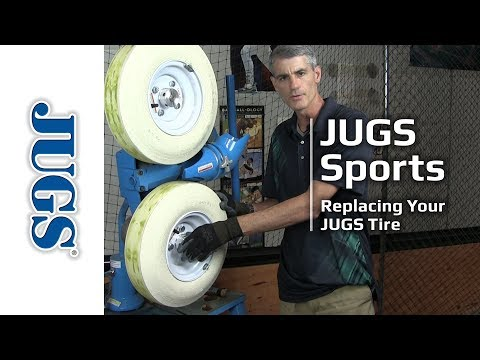 Replacing Your JUGS Tire  | JUGS Sports