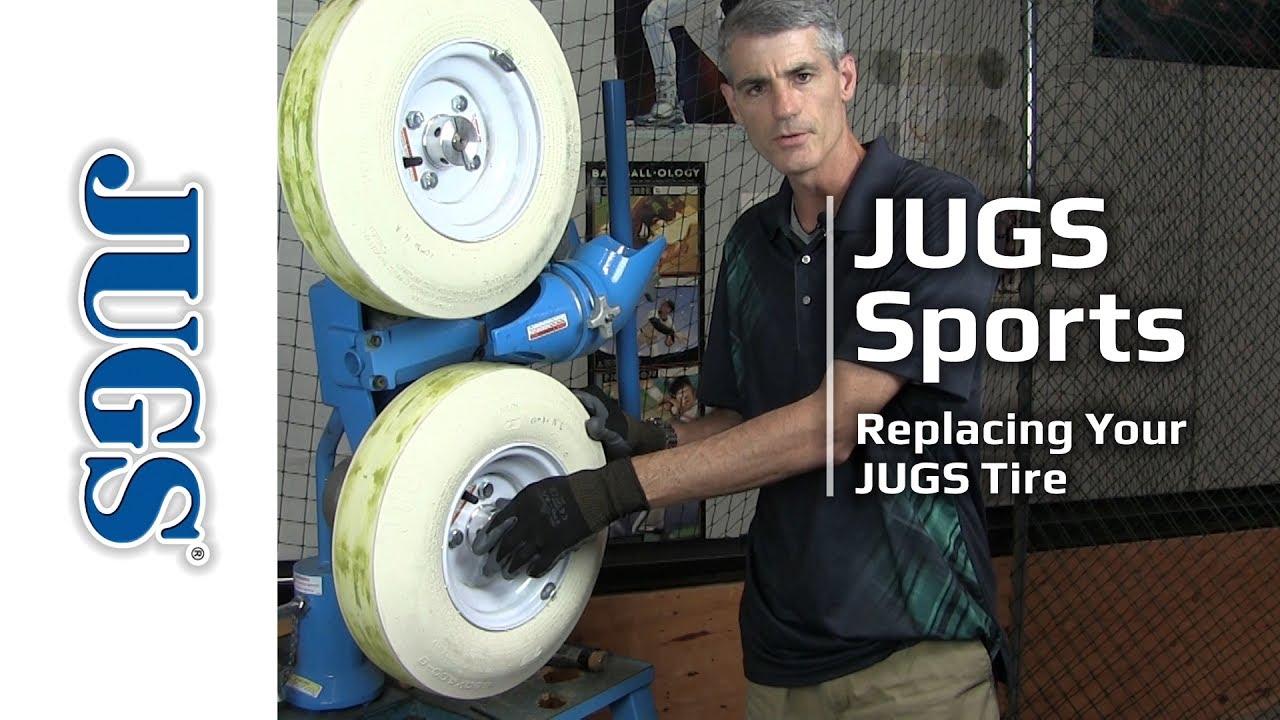 pitching machine tire