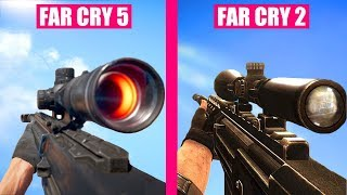 FAR CRY 5 Gun Sounds vs FAR CRY 2