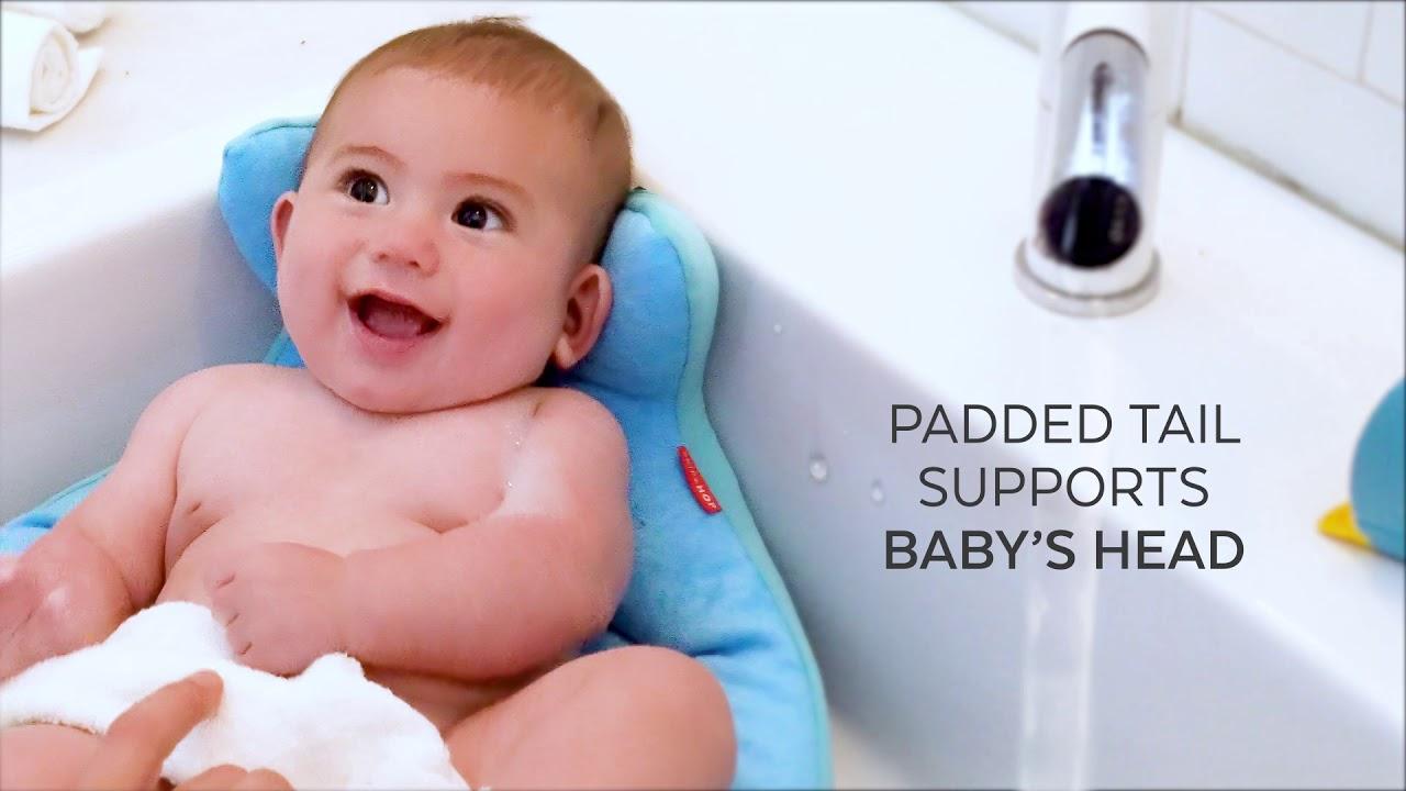 Skip Hop MOBY SoftSpot Sink Bather - YouTube