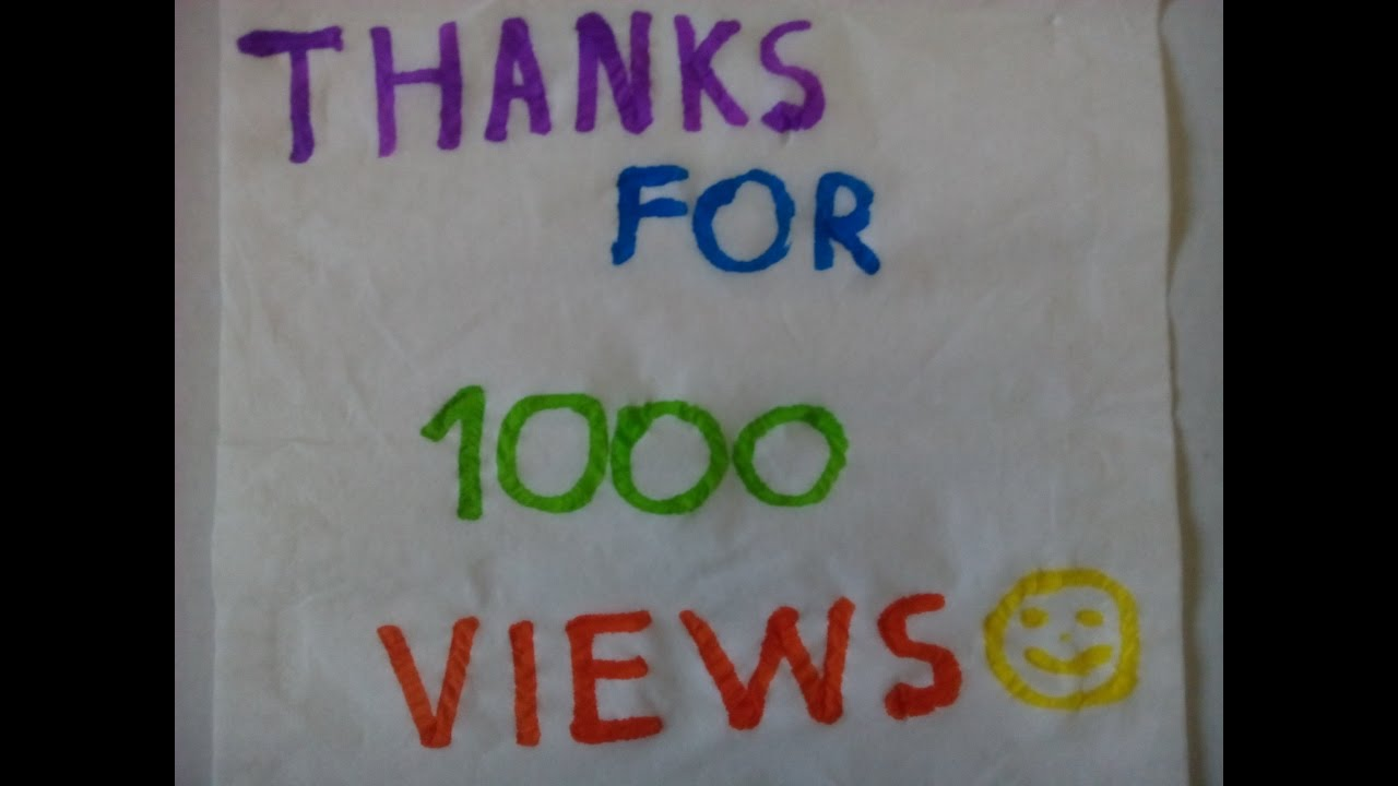 1000 views how to build my logo character youtube