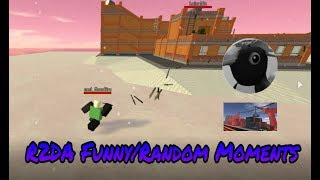 [ROBLOX] R2DA Funny/Random moments -A Million rambo barrage -Map Bugs- Sad Mr.Macaroni-