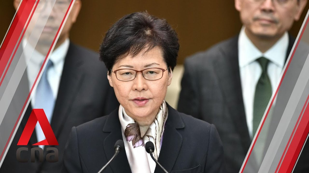Image result for carrie lam speech aug