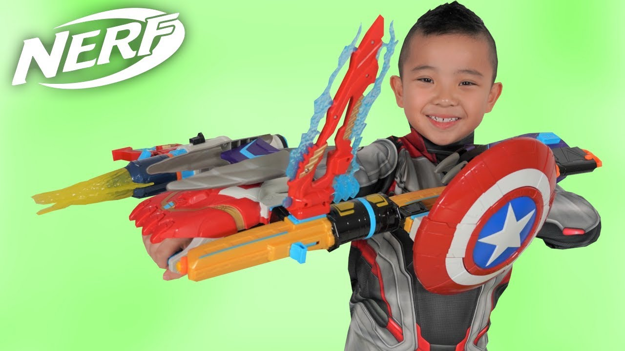BIGGEST Avengers Nerf Blaster Ever CKN Toys
