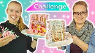 DIY Inspiration LEBKUCHEN HAUS Challenge | Eva vs. Kathi | Wer dekoriert die schönste Seite?