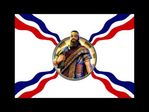 Civilization 5 Ashurbanipal War Music - Ancient Assyrian Chant