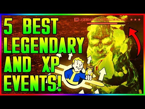 Fallout 76 - 5 Best XP & Legendary Farming Event Locations! (In Depth Guide) thumbnail
