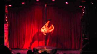 Pole Dance Ireland Pole Princess Competition 2015 - Caroline Kindregan