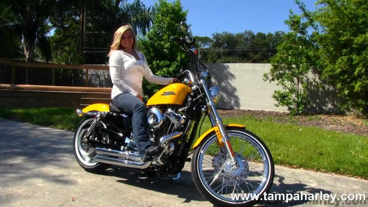 New 2013 Harley-Davidson XL1200V Seventy-Two Sportster - YouTube