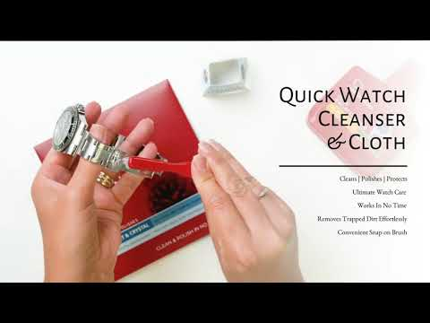 Quick Watch Cleanser by Connoisseurs UK
