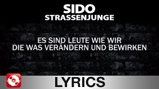 Video SIDO - STRASSENJUNGE - AGGROTV LYRICS KARAOKE (OFFICIAL VERSION) download MP3, 3GP, MP4, WEBM, AVI, FLV Desember 2017