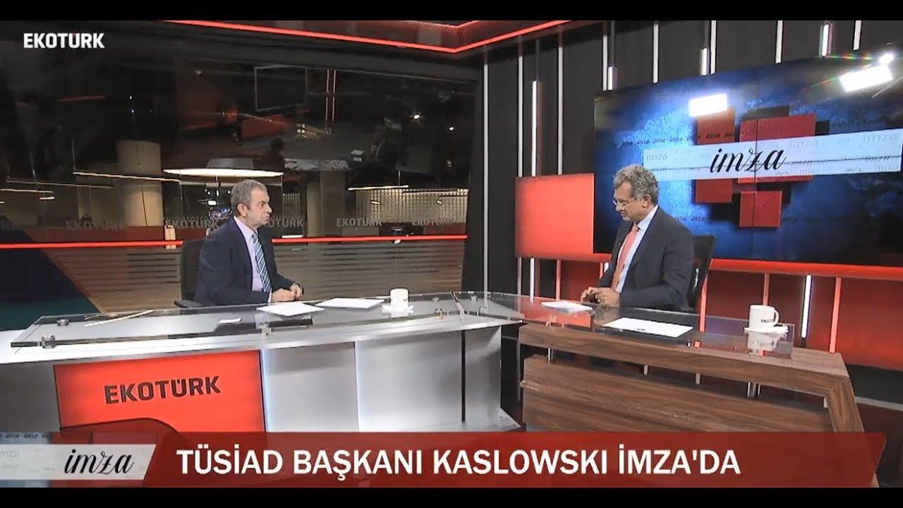 TÜSİAD Yönetim Kurulu Başkanı Simone Kaslowski Ekotürk TV'de İmza programına konuk oldu