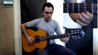 Música: Asa branca, melodia   Aula 6 - Curso de Violão para iniciantes