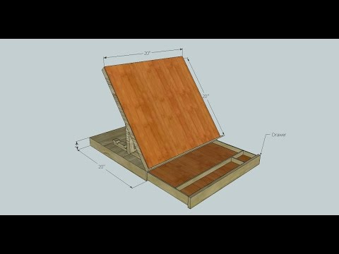 Portable Drafting / Drawing Table