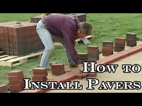 Installing Pavers How To Cover A Concrete Patio YouTube