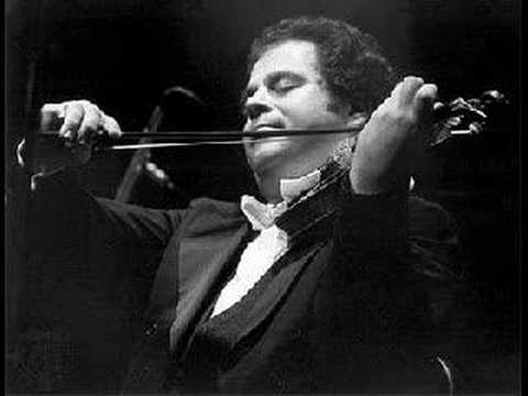 Bach 's Chaconne for Solo Violin / Itzhak Perlman (Part 1/2)