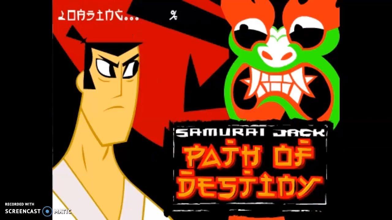 Samurai Jack Path Of Destiny Cartoon Network Games Youtube