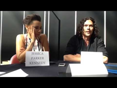 Black Sails: Jessica Parker Kennedy and Luke Arnold part 1 ...