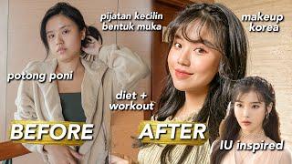 Transformasi EKSTRIM Jadi Kpop Idol Dalam 24 Jam!!! Korean Makeup Tutorial