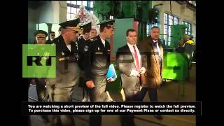 Russia: Medvedev pays homage to those lost Crimean War and WWII