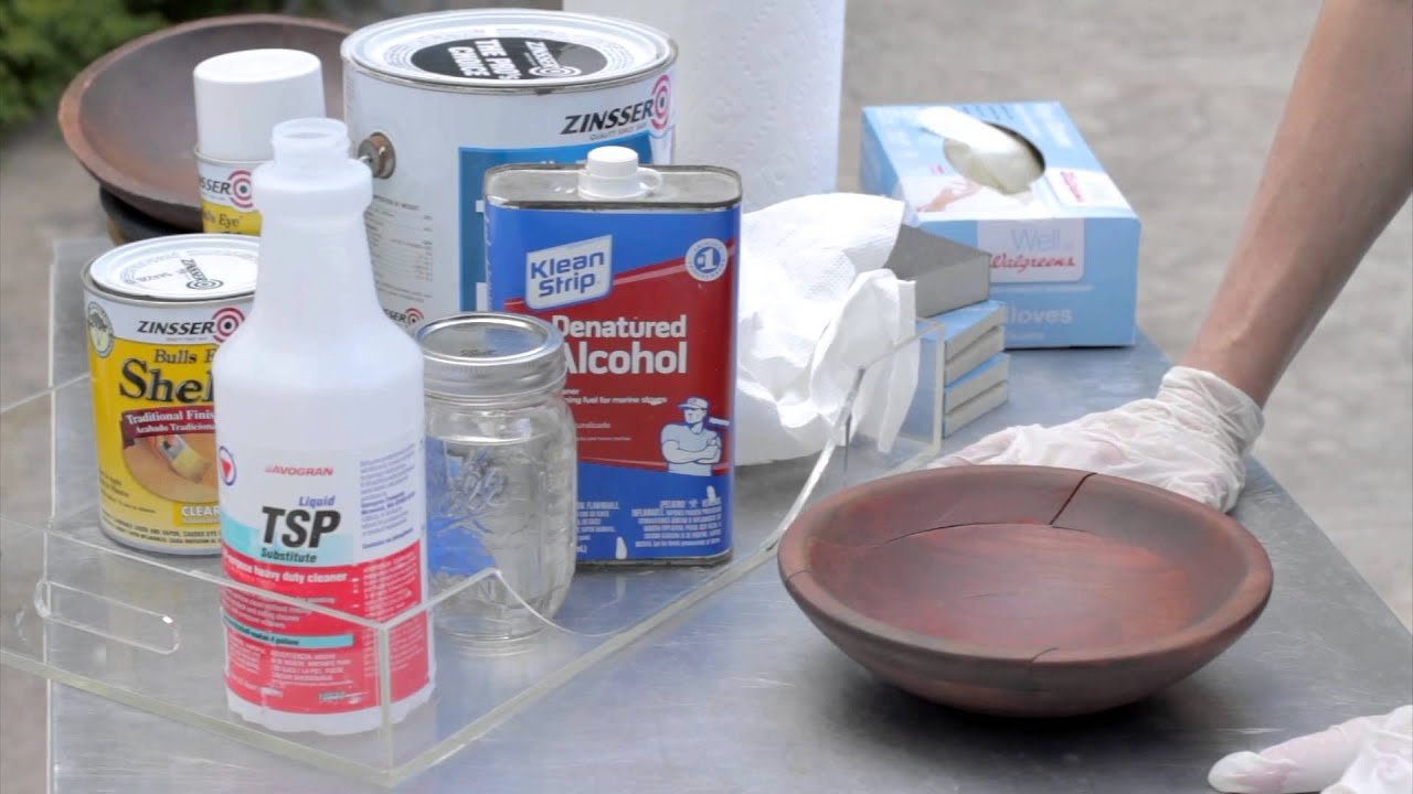 What are the Three Main Cleaning Solvents to use Before Painting