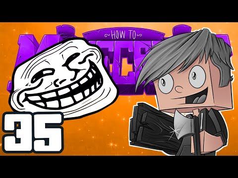 """Minecraft: HOW TO MINECRAFT! """"How to Fake Your Death?"""" Episode 35 (Minecraft 1.8 SMP/Lets Play!)"""