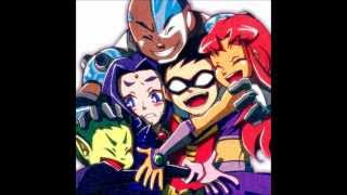Teen Titans theme Japanese and English