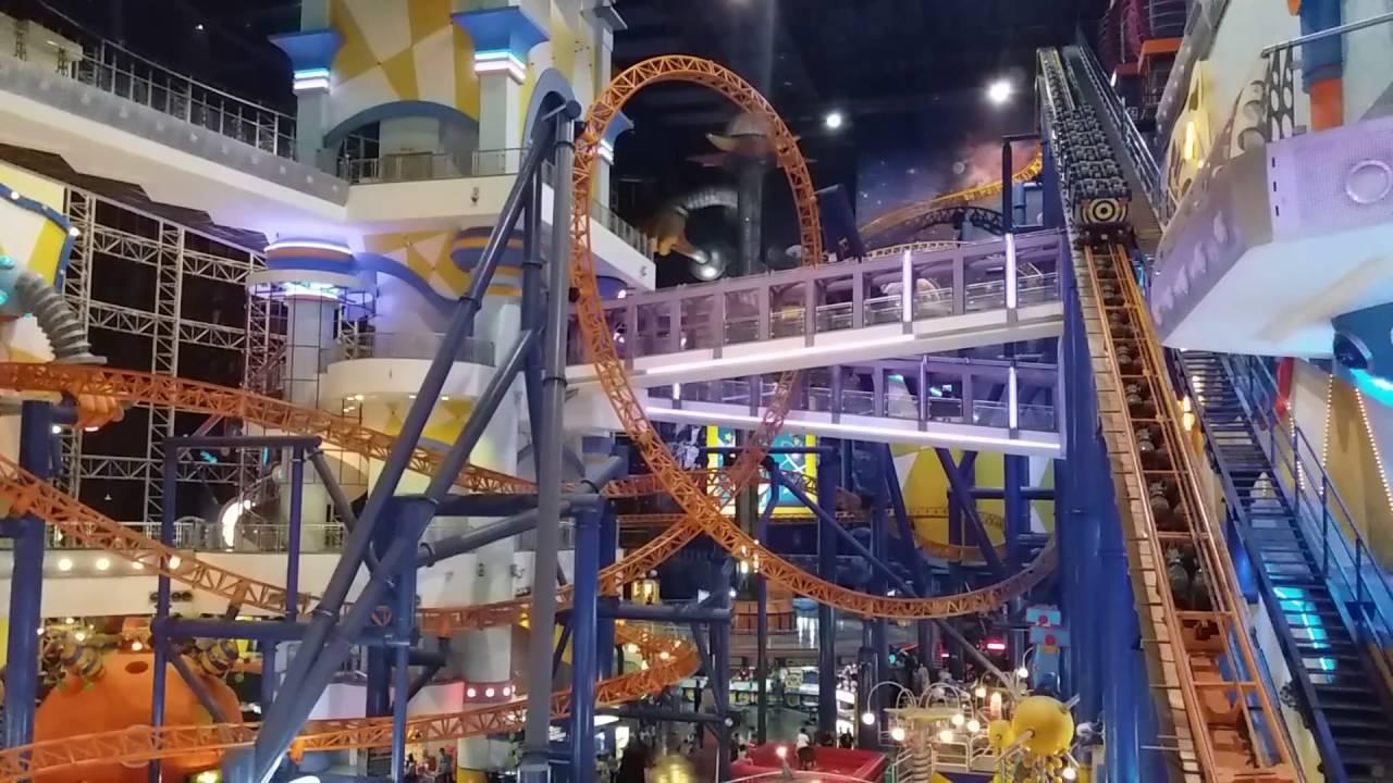 Rollercoaster inside berjaya times square mall kuala lumpur rollercoaster inside berjaya times square mall kuala lumpur malaysia youtube publicscrutiny Images