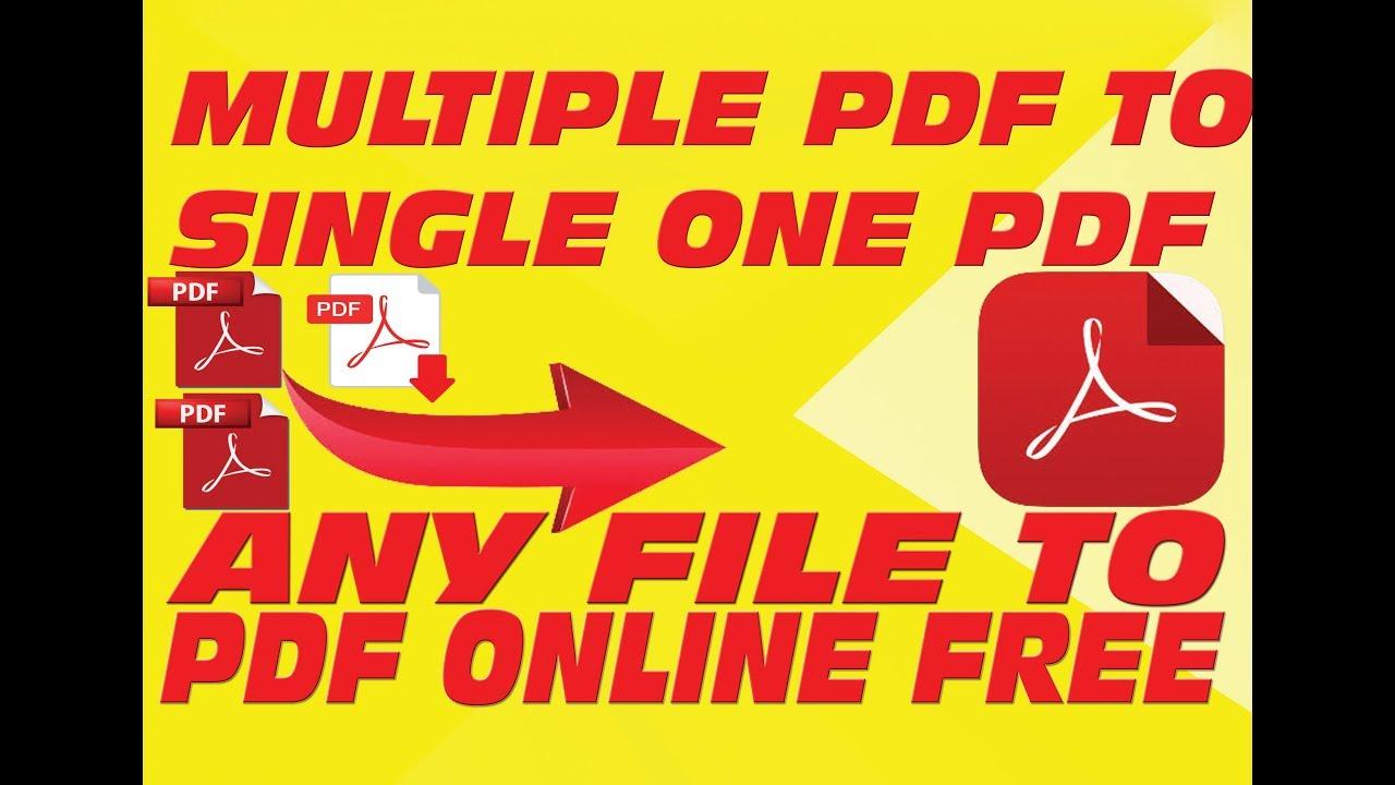 Convert Multiple Pdf To Single Pdf