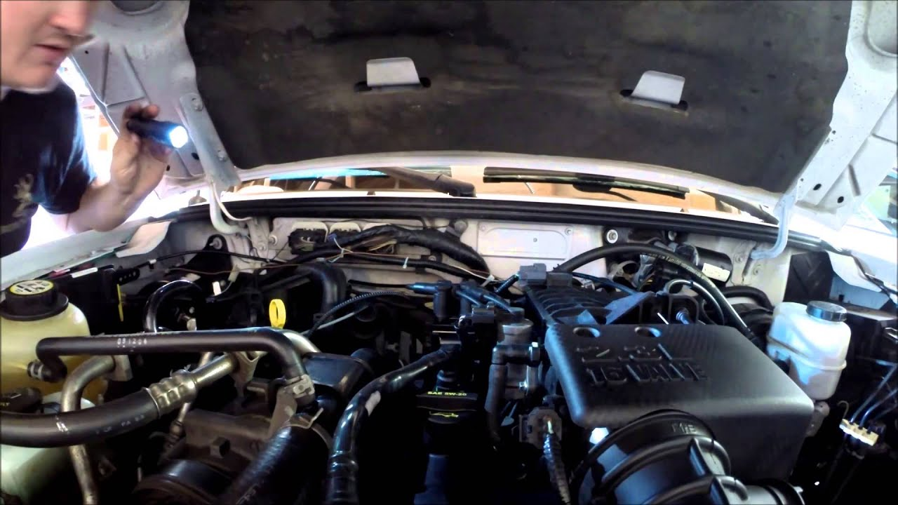 Ford Ranger Ignition Coil Replacement Youtube 1970 F100 Distributer And Wiring
