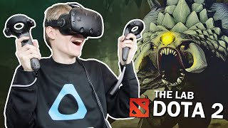 DOTA 2 IN VR, THE SECRET SHOP! | The Lab (HTC Vive Gameplay)