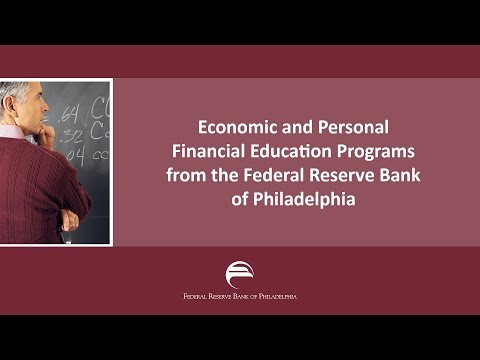 Economic Education Programs at the Philly Fed