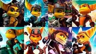 Ratchet & Clank 2016 Evolution | Evolucion Grafica de la saga