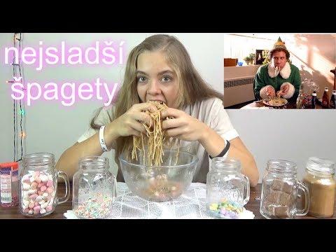 Nejsladší špagety - vánoční challenge   /LEA