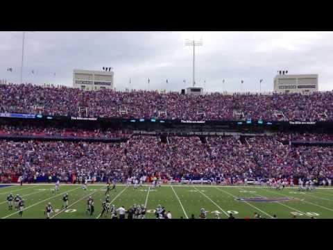 EJ Manuel Game Winning Touchdown vs Carolina Panthers 9/15/13 - Section 113 Buffalo Bills
