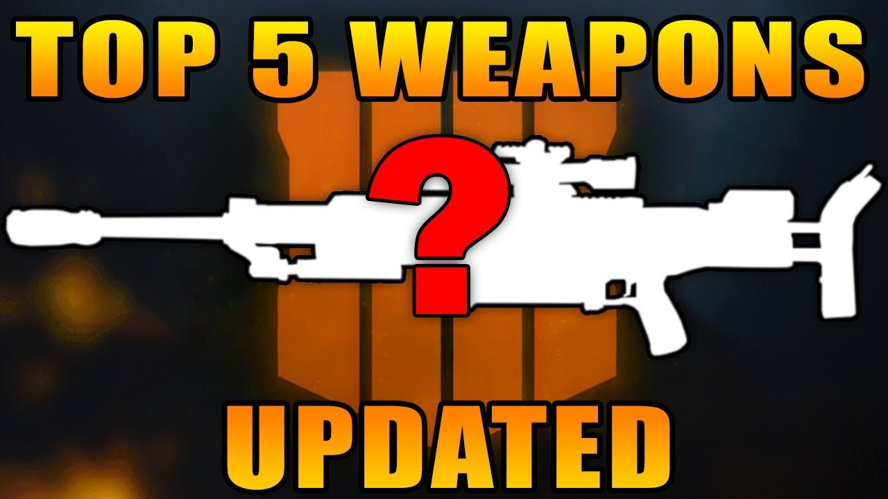 Top 5 Best Guns in Black Ops 4 Multiplayer! (Best Weapons Updated)