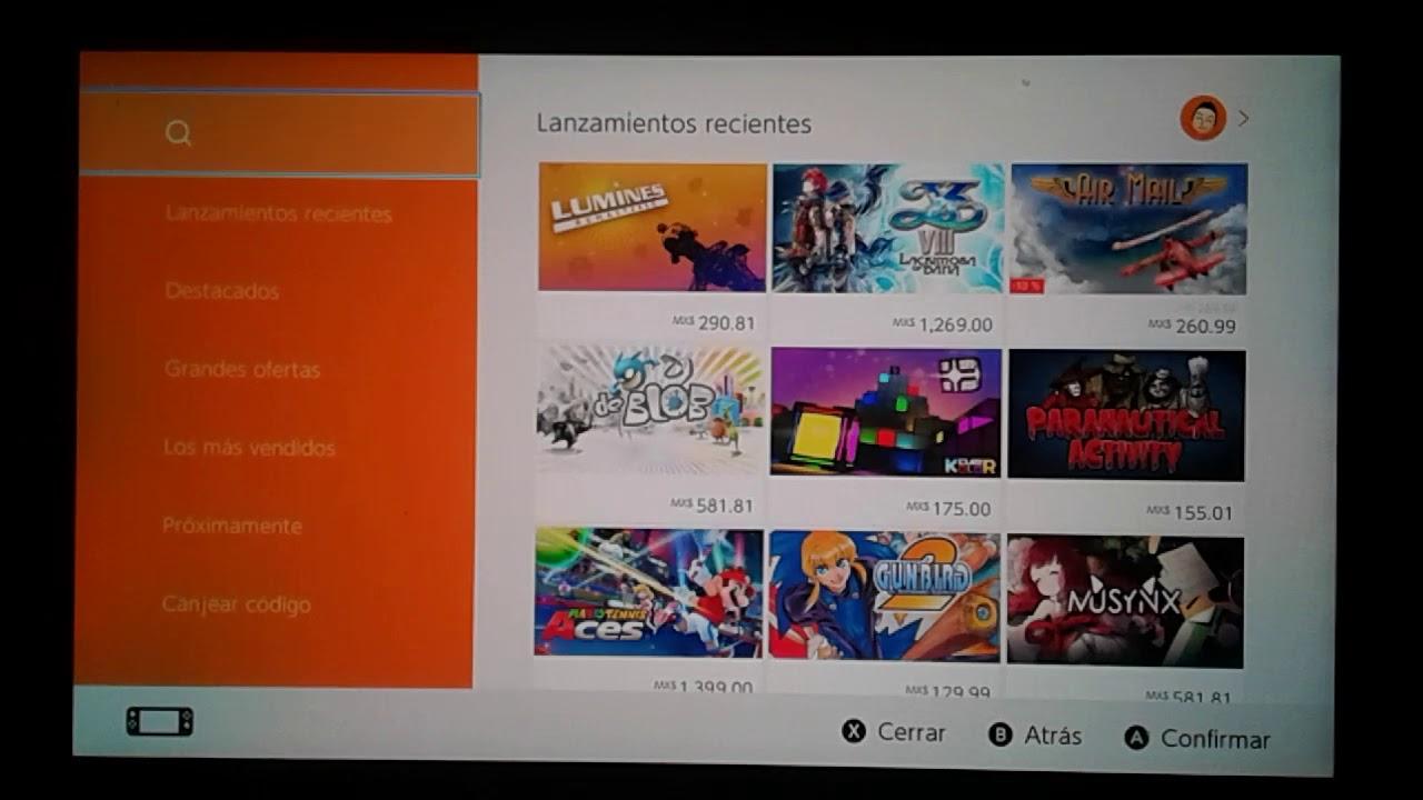 Como Descargar Juegos Gratis En Nintendo Switch Youtube