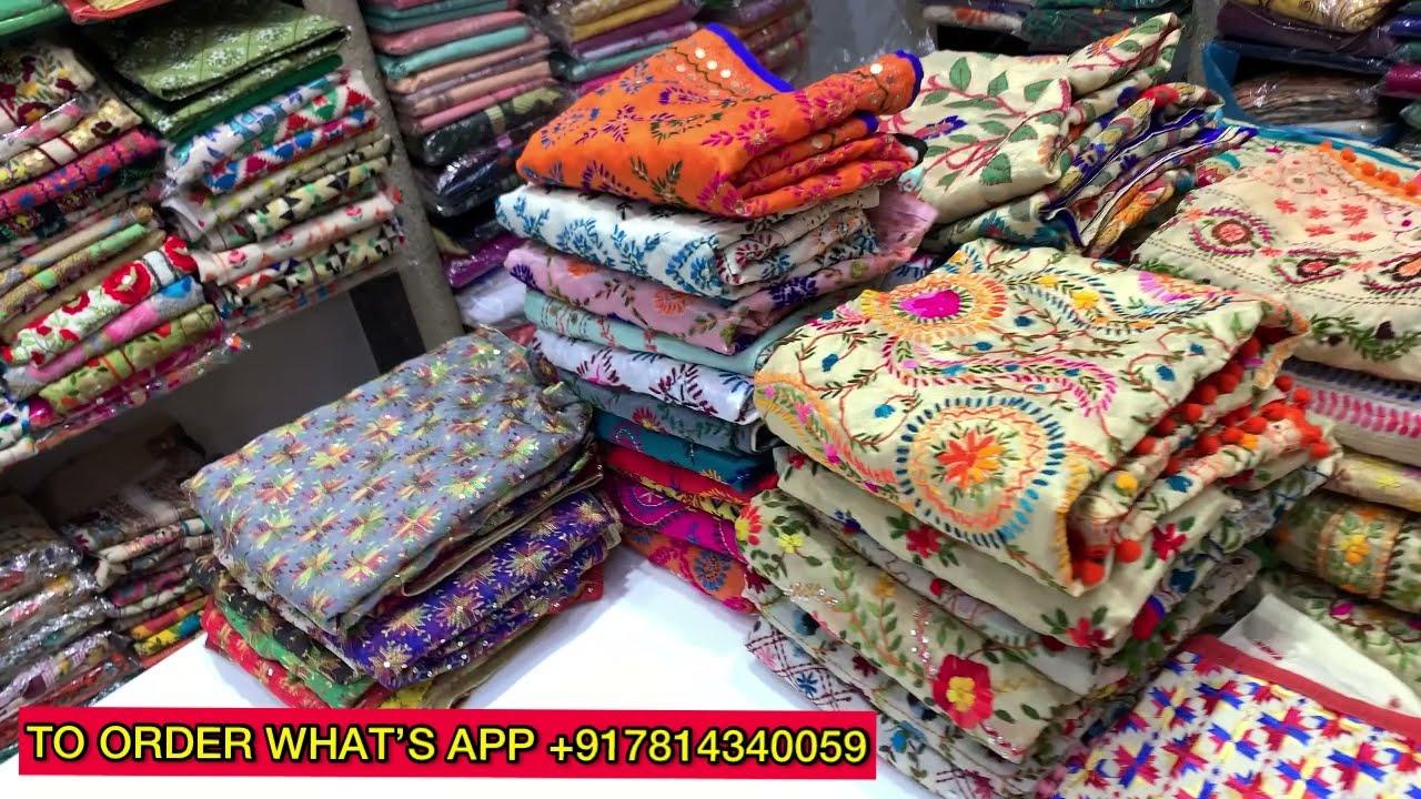 Download #Live फुलकारी डुप्पटों का भंडार | Buy Online Phulkari Dupatta, Suits & Kurti Wholesale  in Amritsar