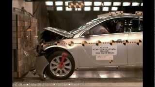Buick Regal / Hybrid   2012   Frontal Crash Test   NHTSA   CrashNet1