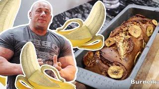 Gotuj z Koksem, ciasto bananowe z białkiem