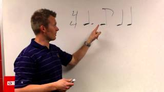 Dotted Quarter eighth note rhythm review