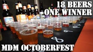 Mdm Octoberfest Beer Tasting 2014